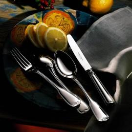 """Набор столовых приборов на 6 персон 24 предмета, декор """"Альт Фаден"""", Robbe&Berking, посеребрение"""