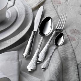 """Набор столовых приборов на 6 персон 24 предмета, декор """"Эрмитаж"""", Robbe&Berking, посеребрение"""