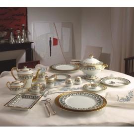 "Сервиз столовый на 6 персон, 35 предметов, декор ""Агессак"", J.Seignolles"