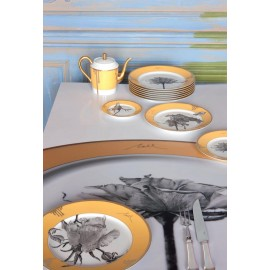 """Сервиз столовый на 6 персон, 34 предмета, декор """"Розы Тусции"""", Robert Haviland&Parlon"""