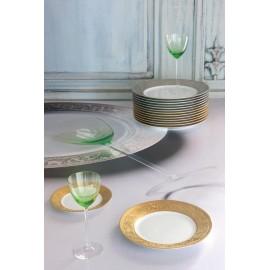 """Сервиз столовый на 6 персон, 35 предметов, декор """"Версаль инкрустация"""", Robert Haviland&Parlon"""