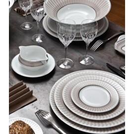"Сервиз столовый на 6 персон, 35 предметов, декор ""Виктуар"", Haviland"