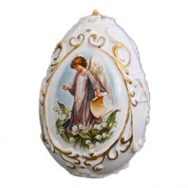 """Яйцо большое рельефное """"Пасхальное"""" 8,5х5,5 см"""