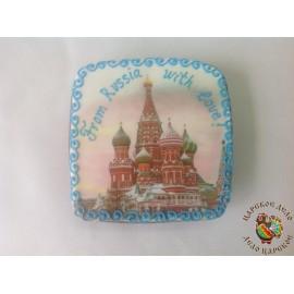 "Пряничная открытка ""From Russia with love"""