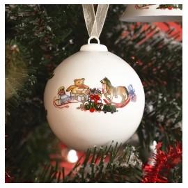 """Колокольчик """"Рождественские игрушки"""", Seltmann Weiden"""