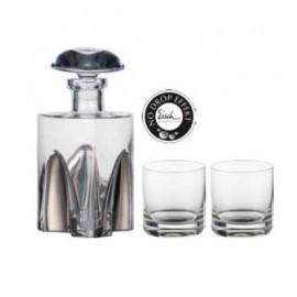 Набор для виски Джентельмен платиновый, Eisch Glaskultur