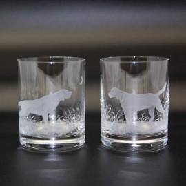 "Набор 2 стакана для виски 400 мл с гравировкой ""Мотоциклы"""