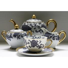 """Сервиз чайный на 6 персон, 21 предмет, декор """"Султан"""", Robert Haviland&Parlon"""