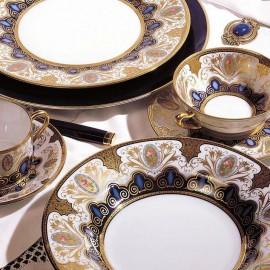 "Сервиз столовый на 6 персон, 35 предметов, декор ""Шахерезада"", Robert Haviland&Parlon"