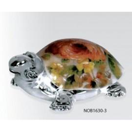 Фигурка черепашки 10х6 см Желтые розы, Charisma