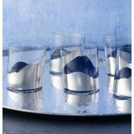 "Набор 2 бокала для вина ""Романтический сад"", Egizia, Италия"