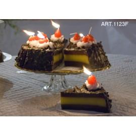 """Свеча """"Шоколадный торт"""" кусок, Introna"""