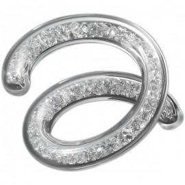 Набор 2 кольца для салфеток 10 Карат, Eisch Glaskultur, Германия