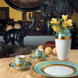 "Сервиз столовый на 6 персон, 35 предметов, декор ""Мариенбад"", J.Seignolles"
