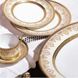 """Сервиз столовый на 6 персон, 35 предметов, декор """"Мария-Антуанетта"""", Robert Haviland&Parlon"""