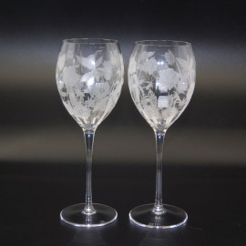 "Набор 6 бокалов для вина с гравировкой 340 мл, серия ""Дрим"", IVV"