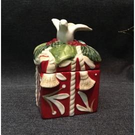 Шкатулка малая рождественская Fitz and Floyd