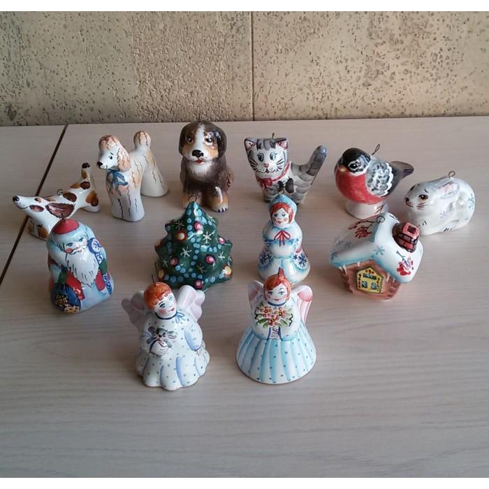 Набор елочных игрушек 12 шт.