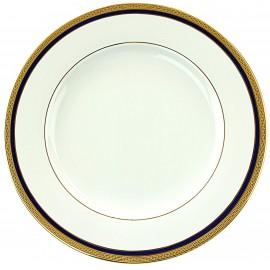 Набор 6 тарелок 17 см, декор 9030 Кобальт Голд, Falkenporzellan