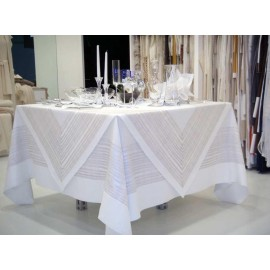 Скатерть Грека 220x220 см, Текстиль Maison Claire