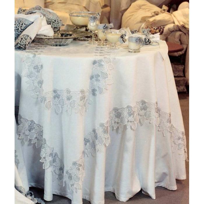 Скатерть модель Мелограно 180x180 см, Текстиль Maison Claire