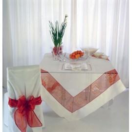 Скатерть модель Байя 180x180см, Текстиль Maison Claire