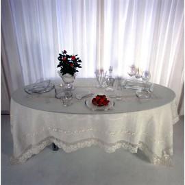 Скатерть модель Грация 280x180см, Текстиль Maison Claire