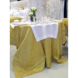 Скатерть из жаккардового хлопка модель Аканто 270x170см, Текстиль Maison Claire