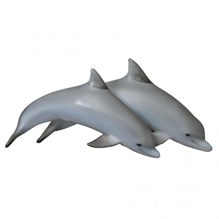 """Фигурка """"Пара дельфинов"""", дл. 17 см, Herend, Венгрия"""